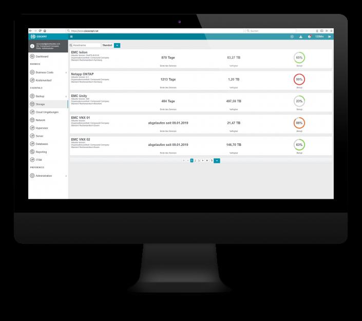 CIO Cockpit Essentials – Ihre gesamte Storage Umgebung auf einen Blick